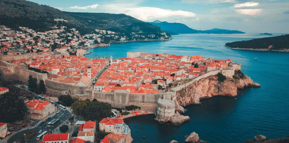 Dubrovnik end of the tour