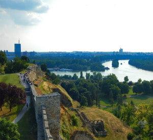 Kalemegdan park and fortress