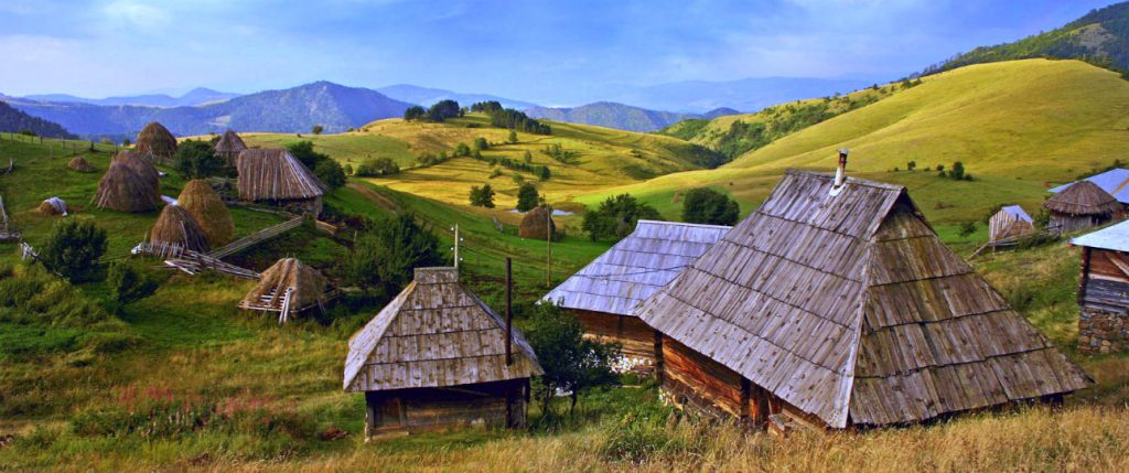 About Serbia scenery