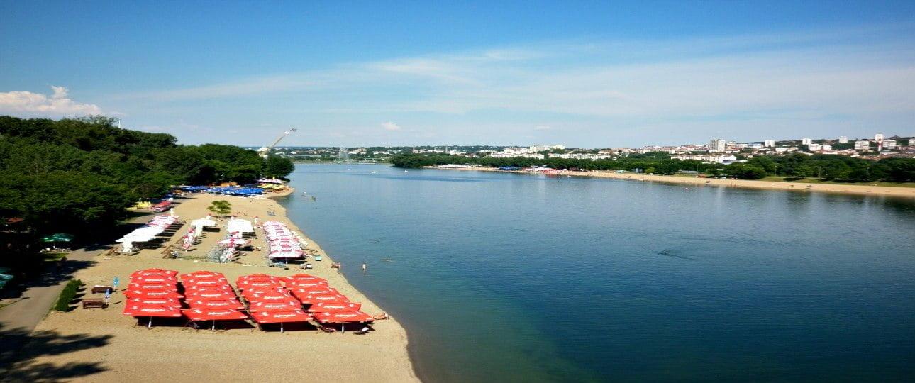 Ada Ciganlija Belgrade Sea