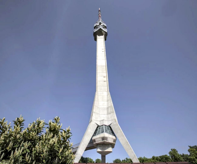 Avala tower after 2010