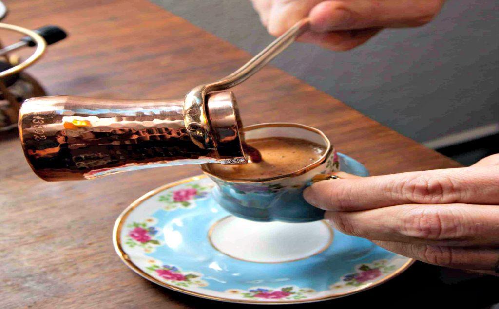 Turkish coffee cezva