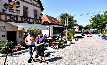 E-Scooter Zemun Tour