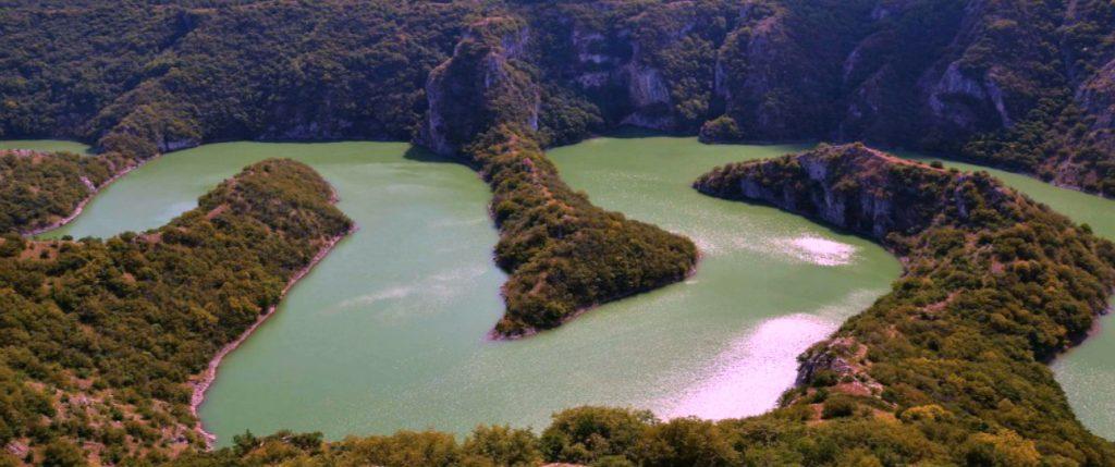 Meanders of River Uvac