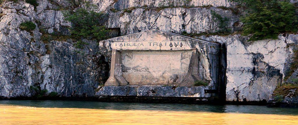 Tabula Traiana on the Danube