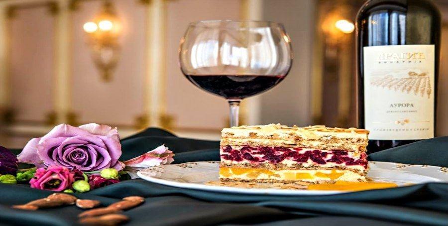 Hotel Moskva Belgrade Snit cake